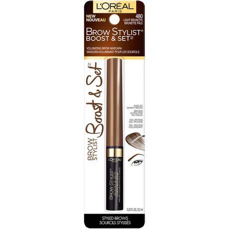 L'Oreal Paris L'Oréal Paris BOOST & Set Brow Mascara, 8  ML - image 4 of 5