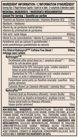 Hydroxycut™  Caffeine-Free Caplets - image 2 of 2
