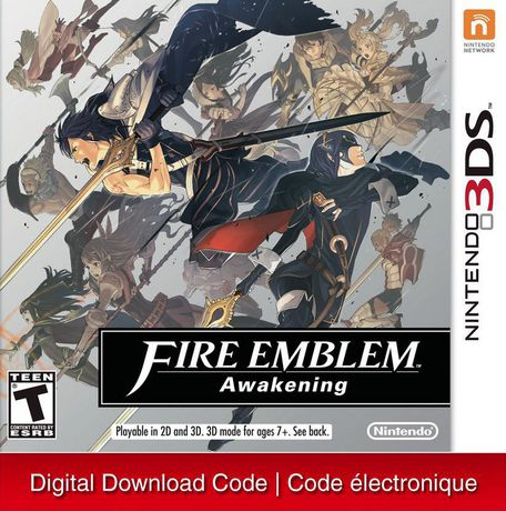 Fire Emblem: Awakening - Nintendo 3DS [Digital Code]