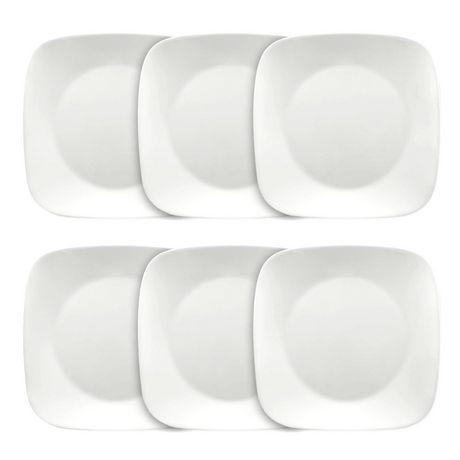 sc 1 st  Walmart Canada & Corelle® Pure White Dinner Plates | Walmart Canada