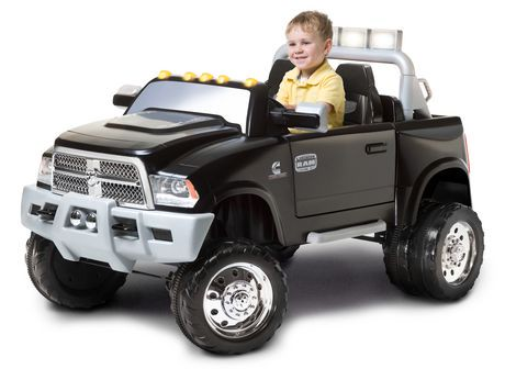 kidtrax ram 3500 dually 12 volt powered ride on walmart. Black Bedroom Furniture Sets. Home Design Ideas