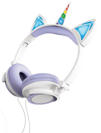 Art+ Sound Unicorn Wired Headphones with LED Lights - image 2 of 3