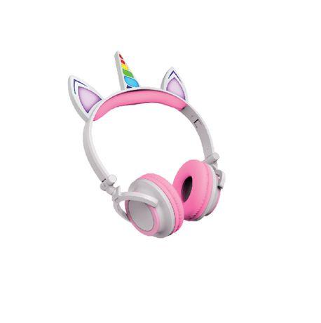 Casque d'écoute filaire de licorne Art+ Sound avec éclairage LED - image 1 de 2