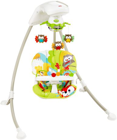 Fisher-Price Woodland Friends Cradle 'n Swing - image 1 of 5