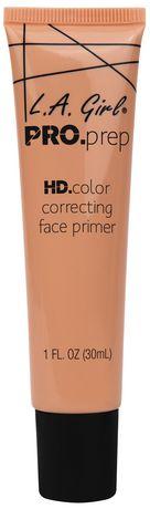 Base correctrice de rougeurs Pro Prep orange LA Girl - image 1 de 1