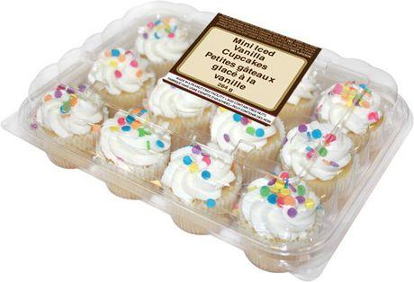 TwoBite Mini Iced Vanilla Cupcakes Walmart Canada