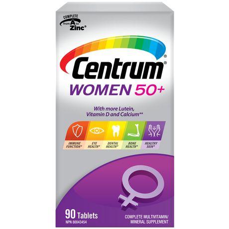 Centrum Women 50+ Multivitamin Tablets - image 1 of 3
