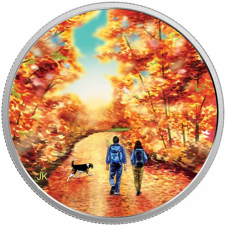 Great Canadian Outdoors: Nature Walk at Sunrise - Royal Canadian Mint  Fine Silver Coin - image 1 of 2