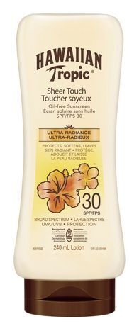 Hawaiian Tropic Sheer Touch Spf 30 Oil Free Sunscreen Lotion - image 1 of 1