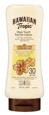 Hawaiian Tropic Sheer Touch Spf 30 Oil Free Sunscreen Lotion Walmart Canada