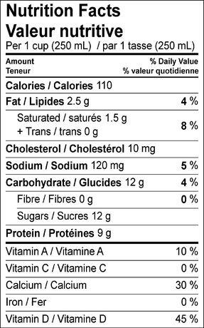 Dairyland Lait 1% - image 2 de 2
