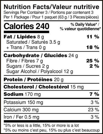 Optimum Nutrition Peanut Butter Chocolate Protein Cake Bites 3 Pack - image 3 of 3