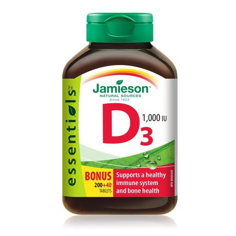 Jamieson Laboratories Jamieson Vitamin D 1,000 IU Tablets