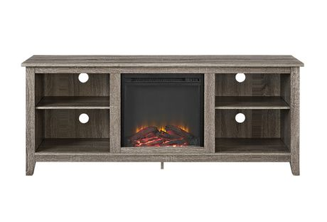 """Manor Park Minimal Farmhouse Fireplace TV Stand for TV's up to 64""""- Multiple Finishes - image 2 of 5"""