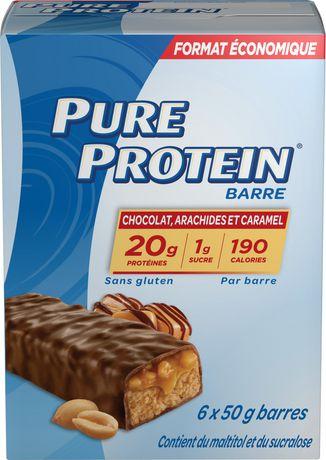 Pure Protein Chocolate Peanut Caramel Bars - image 2 of 3