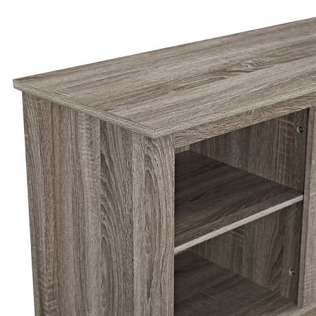 """Manor Park Minimal Farmhouse Fireplace TV Stand for TV's up to 64""""- Multiple Finishes - image 3 of 5"""