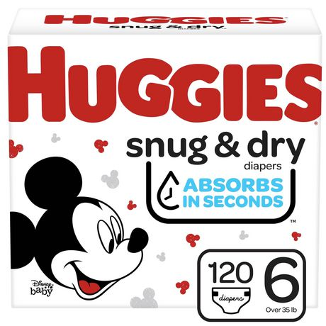 HUGGIES SNUG & DRY Diapers, Econo Pack - image 1 of 9