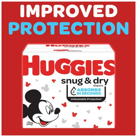 HUGGIES SNUG & DRY Diapers, Econo Pack - image 2 of 9