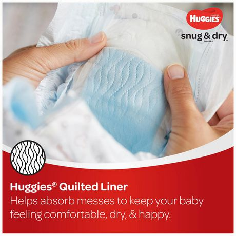 HUGGIES SNUG & DRY Diapers, Econo Pack - image 7 of 9