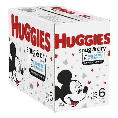 HUGGIES SNUG & DRY Diapers, Econo Pack - image 9 of 9