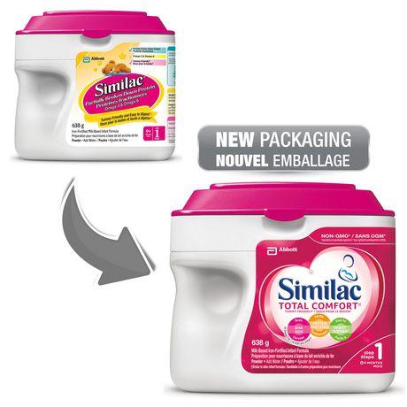 Similac Total Comfort Omega-3 & Omega-6 Baby Formula Powder, 638 g - image 4 of 9
