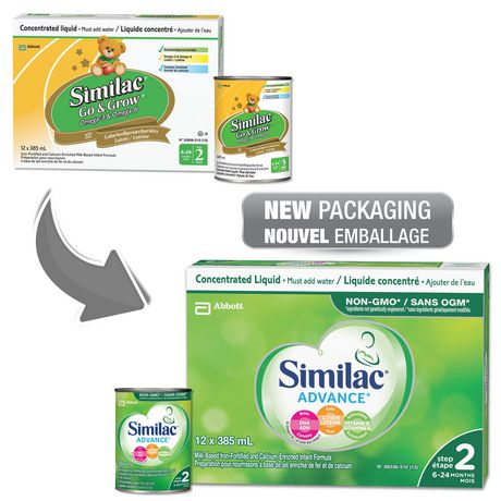 Similac® Advance® Step 2 Concentrated Liquid Baby Formula, 12 x 385 mL - image 4 of 9