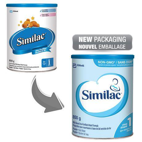Similac Step 1 Non-GMO Powder Baby Formula, 850 g - image 4 of 9