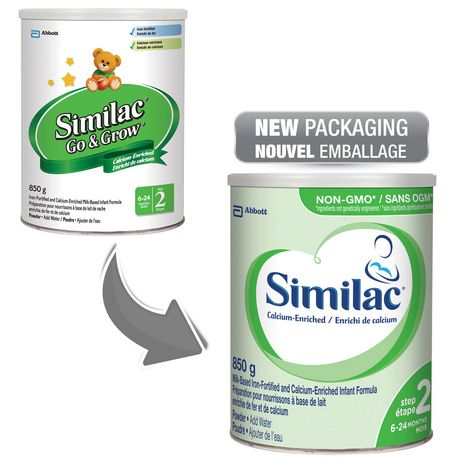 Similac Step 2 Calcium-Enriched Baby Formula Powder, 850 g - image 4 of 9