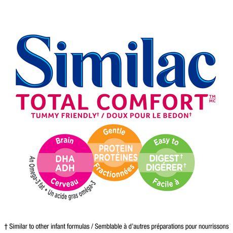 Similac Total Comfort Omega-3 & Omega-6 Baby Formula Powder, 638 g - image 3 of 9