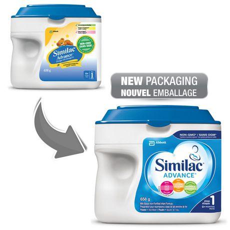 Similac Advance Step 1 Baby Formula Powder + DHA, Lutein & Vtmn E, 658 g - image 4 of 9