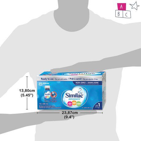 Similac Advance Step 1 Ready-To-Use Baby Formula - image 8 of 9