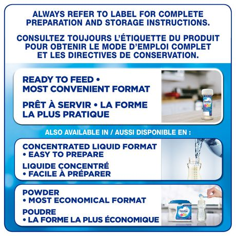 Similac Advance Step 1 Ready-To-Use Baby Formula, 24 x 59 mL - image 9 of 9