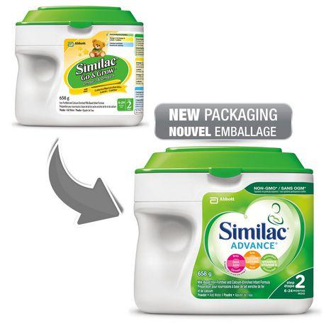 Similac Advance Step 2 Baby Formula Powder + DHA, Lutein & Vtmn E - image 4 of 9