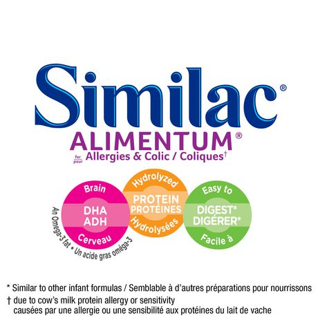 Similac Alimentum Hypoallergenic Baby Formula Powder with DHA, 400 g - image 3 of 9