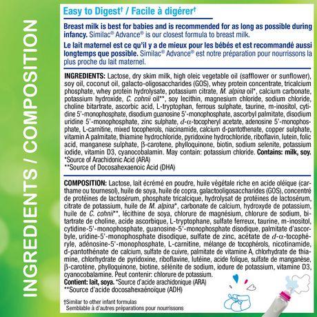 Similac Advance Step 2 Baby Formula Powder + DHA, Lutein & Vtmn E - image 6 of 9