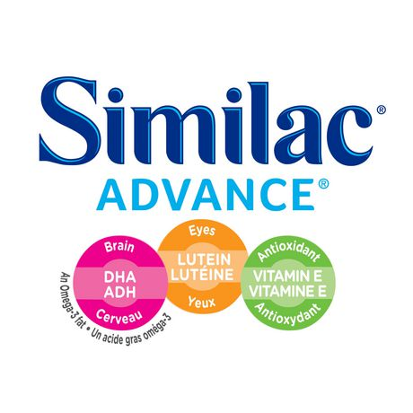 Similac Advance Step 1 Baby Formula Powder + DHA, Lutein & Vtmn E, 964 g - image 3 of 9