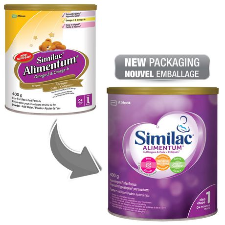Similac Alimentum Hypoallergenic Baby Formula Powder with DHA, 400 g - image 4 of 9