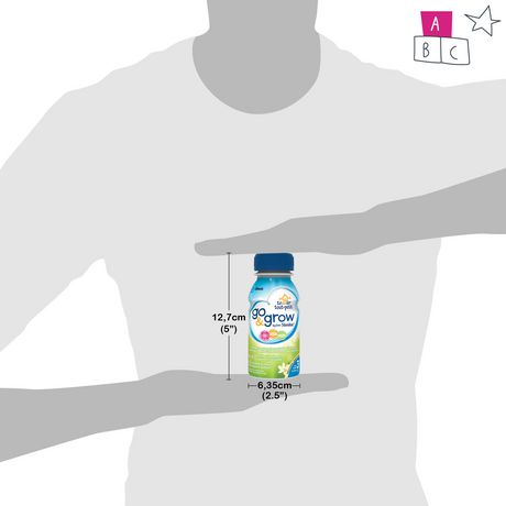 Go & Grow by Similac Step 3 Ready-To-Use Toddler Formula, 6 x 235 mL, Vanilla Flavour - image 6 of 7