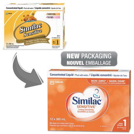 Similac Sensitive Lactose Sensitivity Liquid Baby Formula, 12 x 385 mL - image 4 of 9