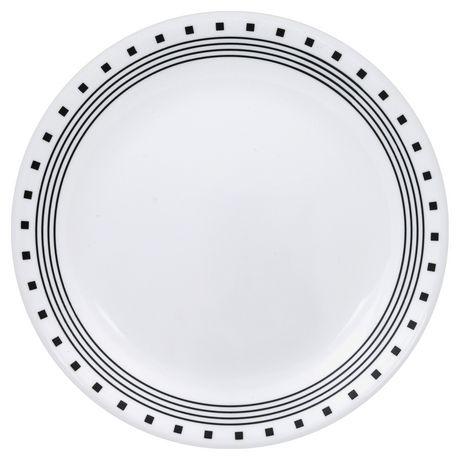 sc 1 st  Walmart Canada & Corelle® City Block Dinner Plates | Walmart Canada