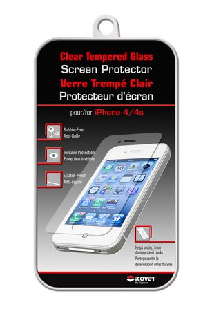 walmart iphone screen protector clear tempered glass screen protector iphone 4 4s 16445