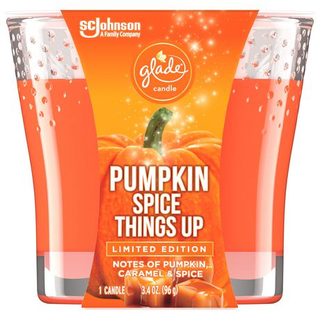 Glade Scented Candle Air Freshener, Pumpkin Spice Things Up - image 1 of 5