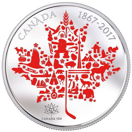 Canadian Icons - Royal Canadian Mint  Fine Silver Coin - image 1 of 1