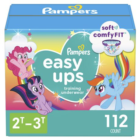 5f0f92bbce Pampers Easy Ups Training Underwear Girls - image 1 of 8 ...