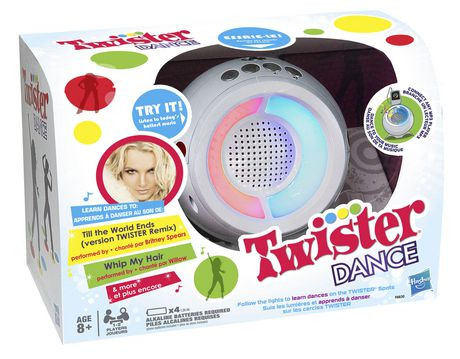 Hasbro Gaming Twister Dance - image 1 of 2