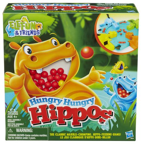 Elefun & Friends Hungry Hungry Hippos Game - image 1 of 4