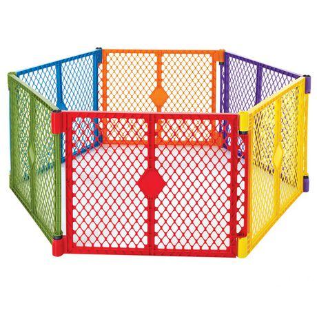 North States Superyard Colorplay Play Yard Walmart Canada