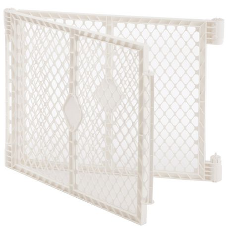 North States  Superyard Ultimate 2-Panel Extension Baby Gate - Ivory - image 1 of 2
