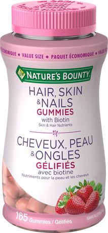 Nature's Bounty Gélifiés de Cheveux, Peau et Ongles - image 1 de 2