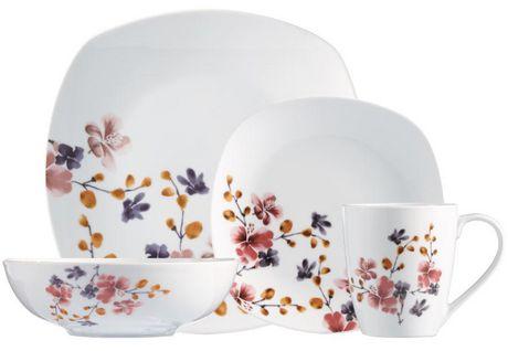 Safdie Amp Co Bloom Dinnerware Set Walmart Canada